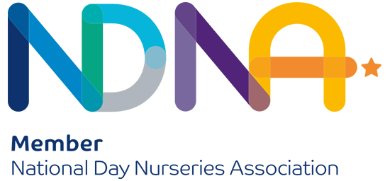 Member of the National Day Nurseries Association NDNA logo