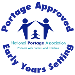 National Portage Association Portage Approved logo NPA Early Years Setting